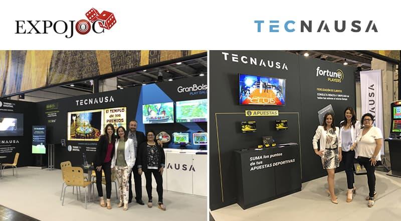 Tecnausa en el Congreso Expojoc 2018