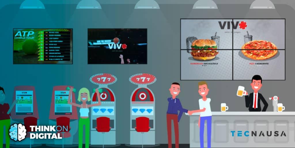 Beneficios del Digital Signage en un Salón de Juegos