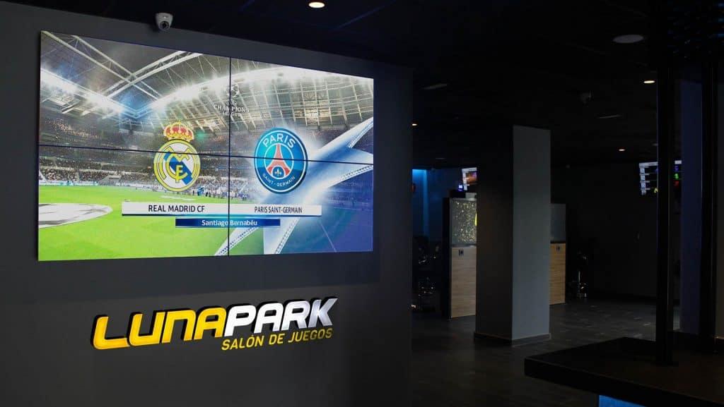 Videowall Salón de Juegos